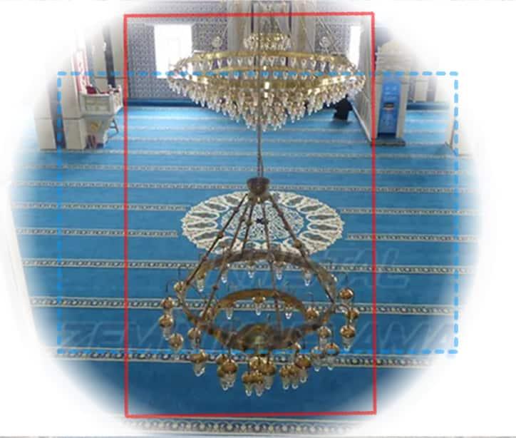 göbekli yuvarlak cami halıları
