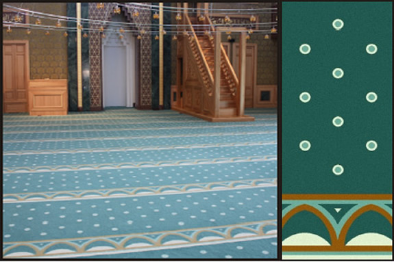 polyamid cami halısı